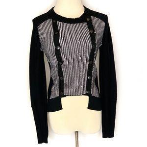 Fox Long Sleeve Button up Sweater/Jacket